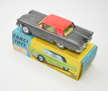 Corgi toys 214s Ford Thunderbird (Old Shop Stock from Ripon North Yorkshire)