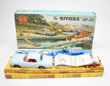 Corgi toys Gift set 31 Riviera Very Near Mint/Boxed (Old Shop Stock from Ripon North Yorkshire)