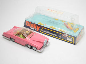 Dinky toys 100 Fab 1 Virtually Mint/Boxed 9/15.
