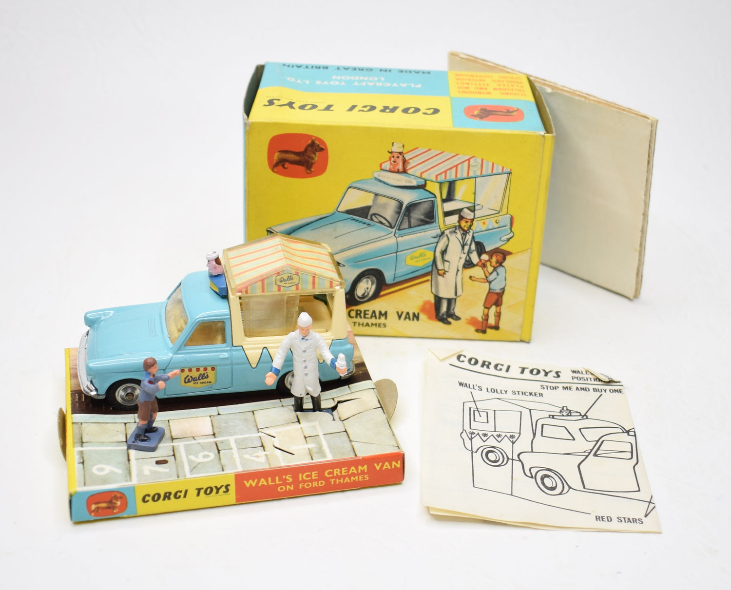 Corgi toys 447 Wall's Ice Cream (Old Shop Stock from Ripon North Yorkshire)
