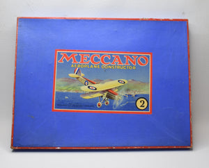 Meccano Aeroplane Constructor 2 Very Near Mint/Boxed