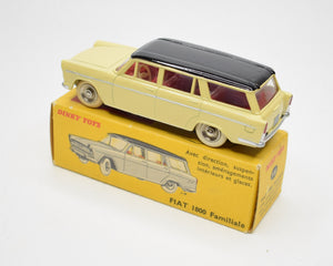 French Dinky Toys 548 Fiat 1800 Familiale Very Near Mint/Boxed.