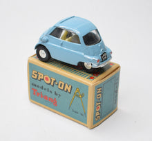 Spot-on 118 BMW Isetta Virtually Mint/Boxed (Pastel blue).