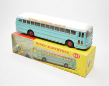 Dinky toys 953 Continental Coach Very Near Mint/Boxed
