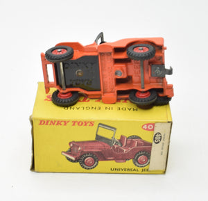 Dinky toys 405 Universal Jeep Very Near Mint/Boxed 'Brecon' Collection Part 2