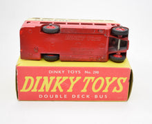 Dinky toys 290 Double deck bus 'Dunlop' Very Near Mint/Boxed.