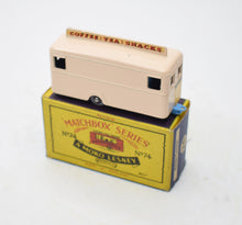 Matchbox Lesney 74 Mobile Canteen in Pink (Old Shop Stock from Ripon North Yorkshire)