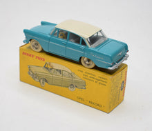 French Dinky 554 Opel Rekord Virtually Mint/Boxed (Export Colour).