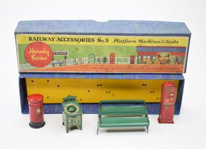 Hornby Series Railway Accessories set 3 Very Near Mint/Boxed.