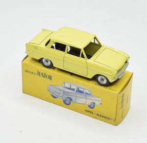 French Dinky Junior 106 Opel Kadett Virtually Mint/Boxed 'Brecon' Collection Part 2