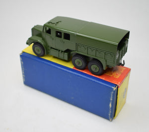 Dinky toys 689 Medium Artillery Tractor Virtually Mint/Boxed (Plastic hubs) C.T.C