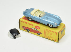 Dinky toy 120 Jaguar e-type Virtually Mint/Boxed  'Brecon' Collection Part 2