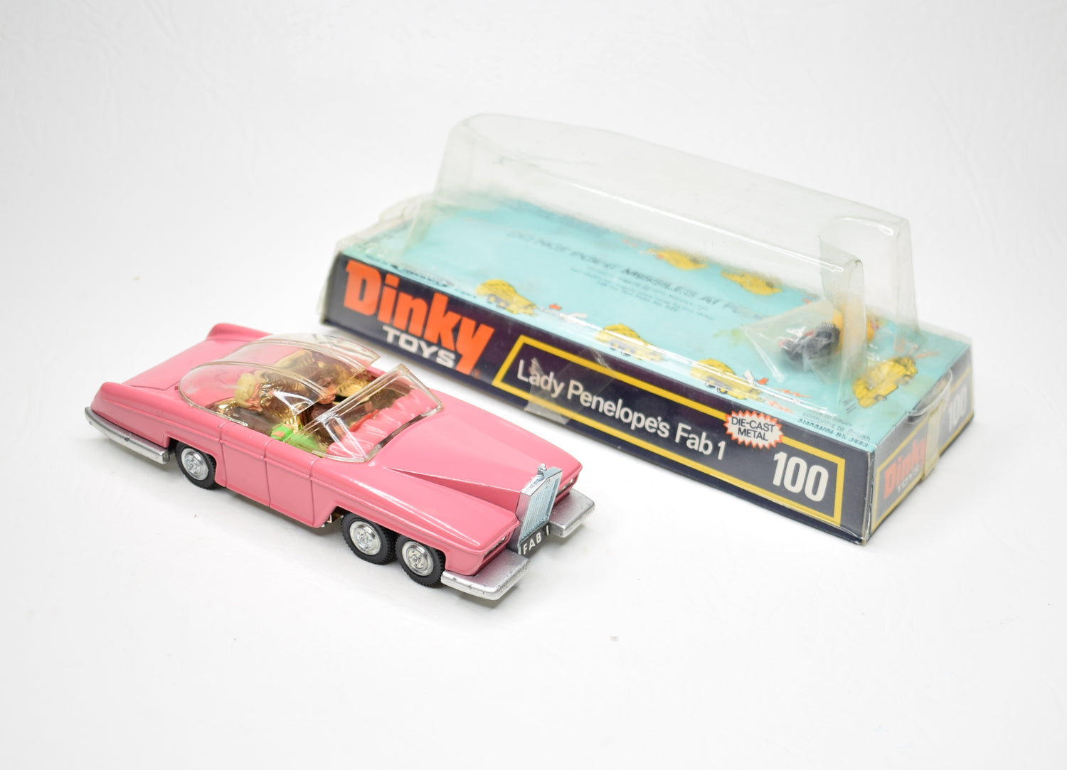 Dinky toys 100 Fab 1 Virtually Mint/Boxed 10/15.