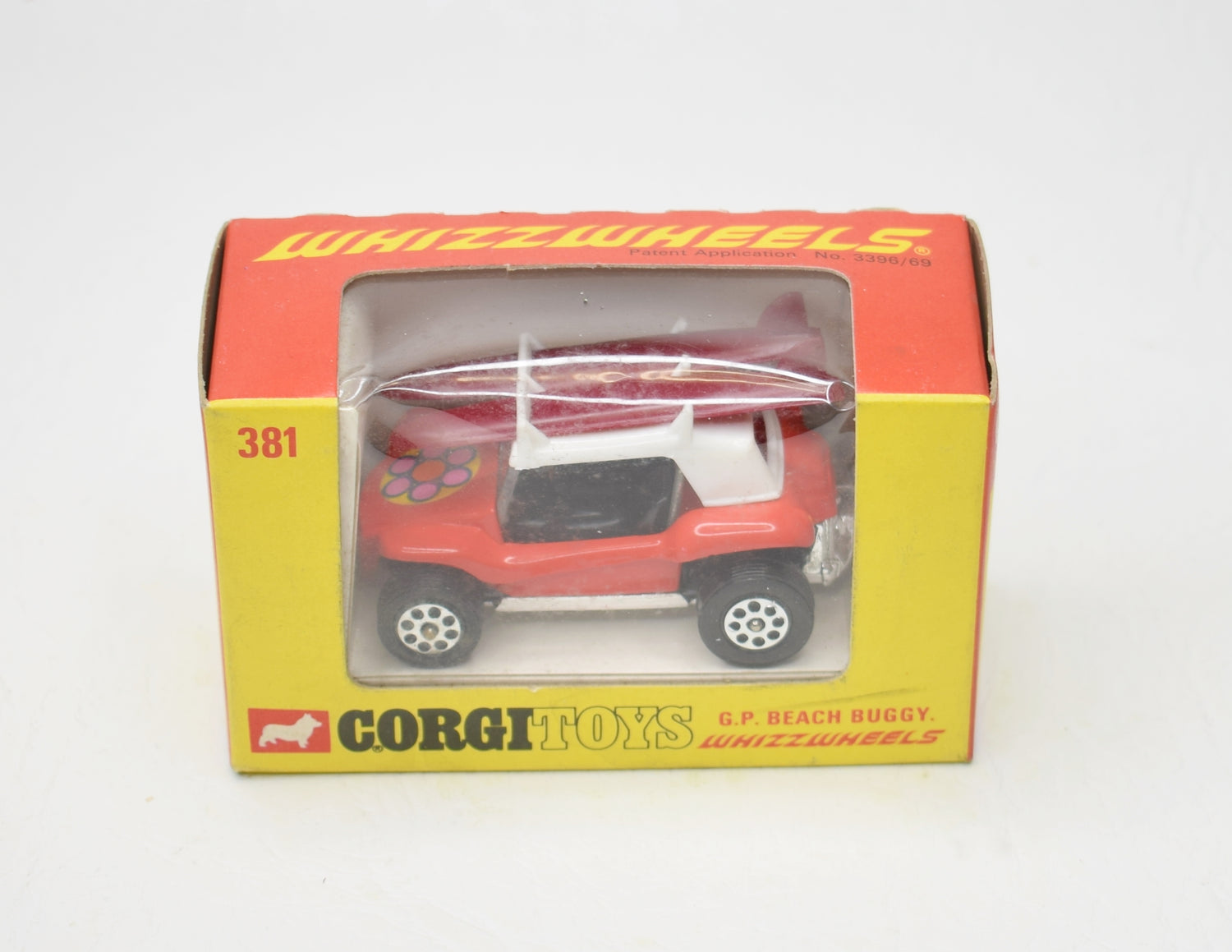 Corgi toys 381 G.P Beach Buggy Mint/Boxed