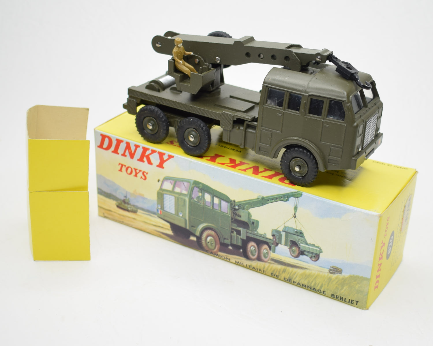 French Dinky 826 Berliet Military Breakdown Truck Virtually Mint/Boxed.
