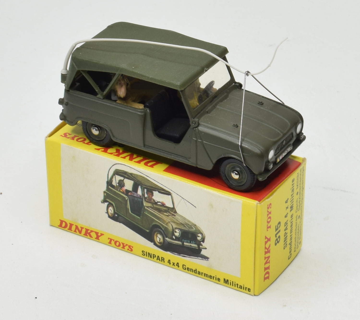 French Dinky 815 Sinpar 4x4 Very Near Mint/Boxed 'Carlton' Collection