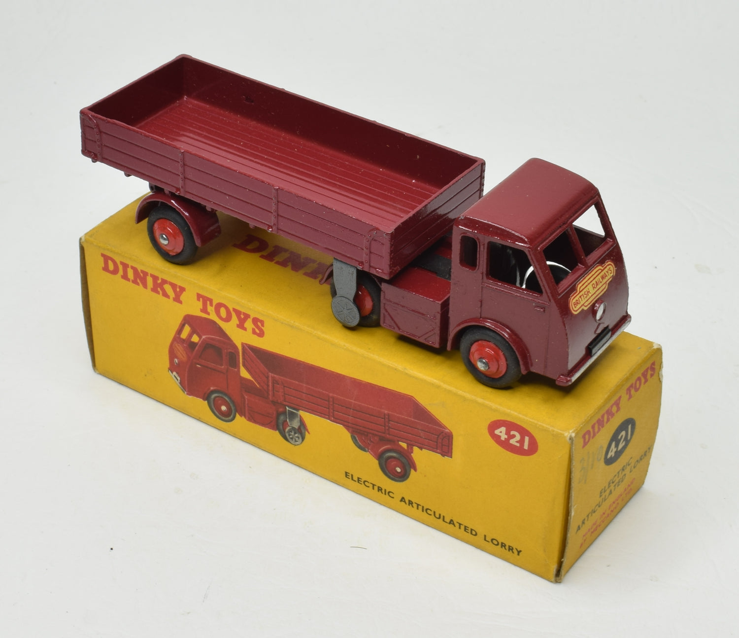 Dinky toys 421 Electric 'British Railways' Lorry Very Near Mint/Boxed 'Brecon' Collection Part 2
