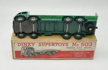 Dinky toys 503 Foden flat truck with tailboard Very Near Mint/Boxed