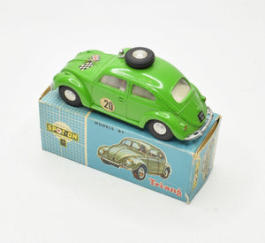 Spot-on 195 Volkswagen Beetle Very Near Mint/Boxed (Vivid green)