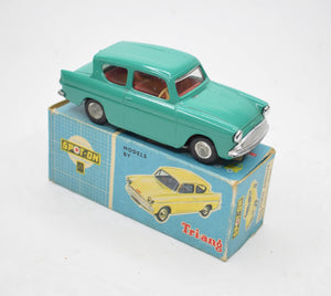 Spot-on 213 Ford Anglia Very Near Mint/Boxed (Turquoise).