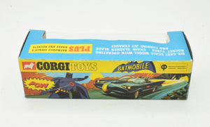 Corgi toys 267 Red Tyre  Batmobile Virtually Mint/Boxed (Kensington Collection)