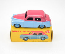 Dinky Toys 154 Hillman Minx Virtually Mint/Boxed.