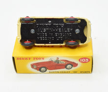 Dinky 103 Austin Healey Civilian Virtually Mint/Boxed