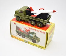 Dinky toys 620 Berliet Missile Launcher Virtually Mint/Boxed.