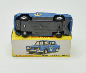 French Dinky 1414 Renault R8 Gordini Very Near Mint/Boxed 'Brecon' Collection Part 2