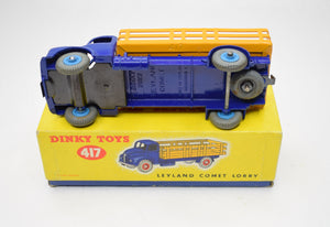 Dinky Toys 417 Leyland Comet Lorry Very Near Mint/Boxed.