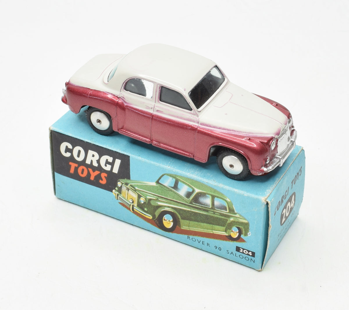Corgi Toys 204 Rover 90 Very Near Mint/Boxed 'Cotswold' Collection