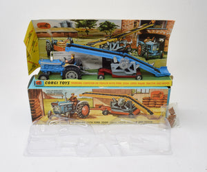 Corgi Toys Gift Set 47 Ford 5000 with Conveyor Very Near Mint/Boxed (New 'The Lane' Collection)