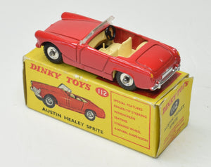 Dinky Toys 112 Austin Healy Sprite Very Near Mint/Boxed