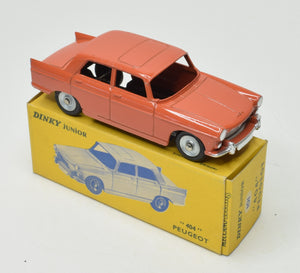 Dinky Junior 101 Peugeot '404' Very Near Mint/Boxed  'Brecon' Collection Part 2