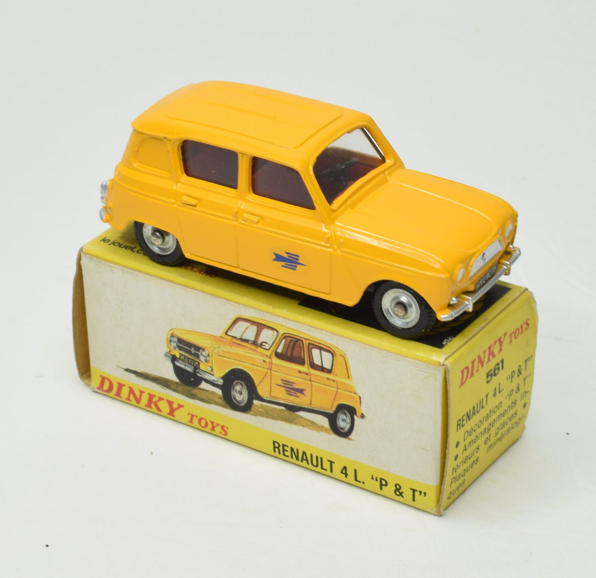 Dinky 561 Renault 4l P&T Very Near Mint/Boxed