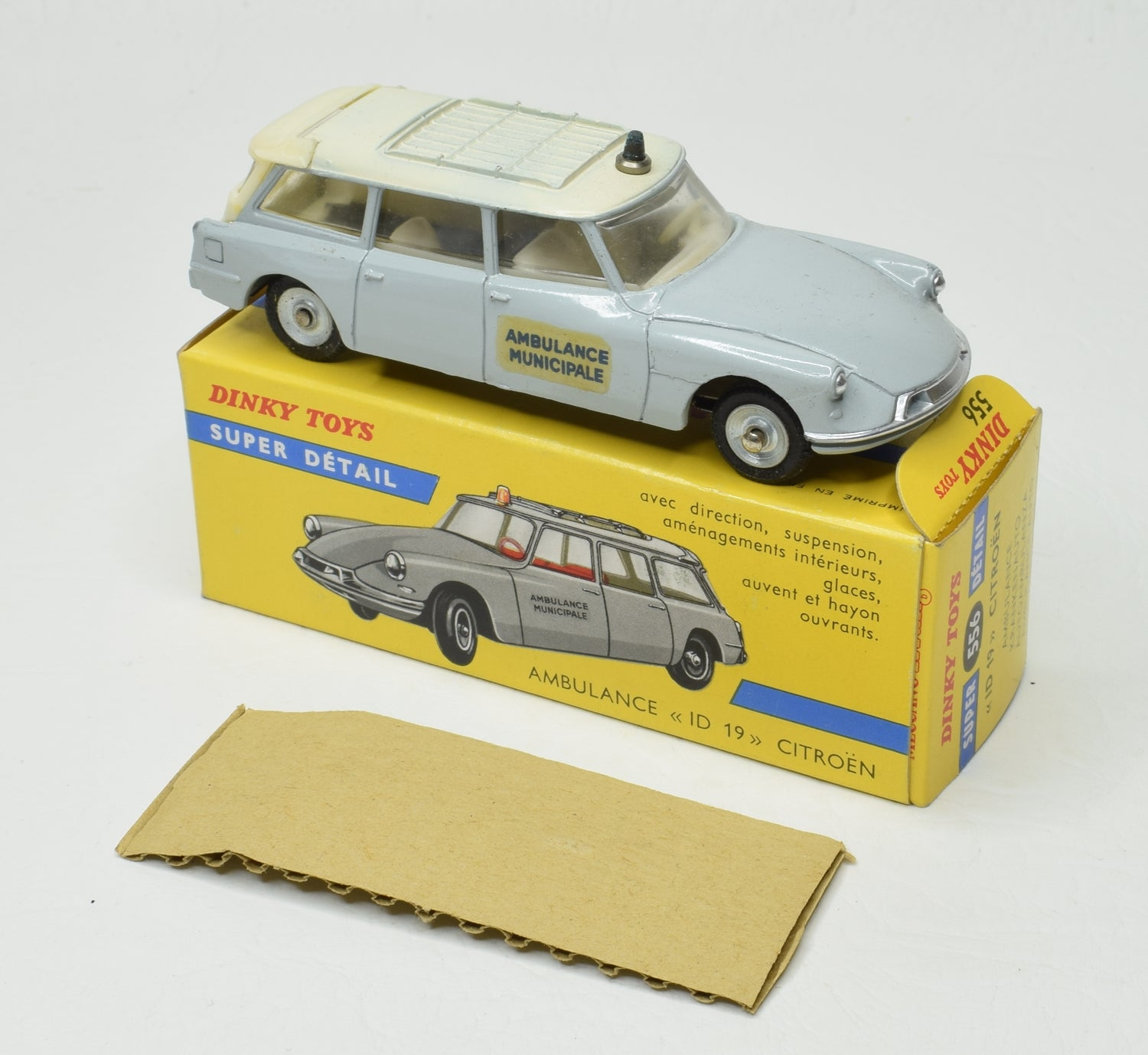 French Dinky Toys 556 Citroen D19 Ambulance Virtually Mint/Boxed 'Brecon' Collection Part 2