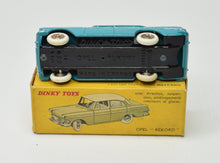 French Dinky 554 Opel Rekord Very Near Mint/Boxed (Export Colour).