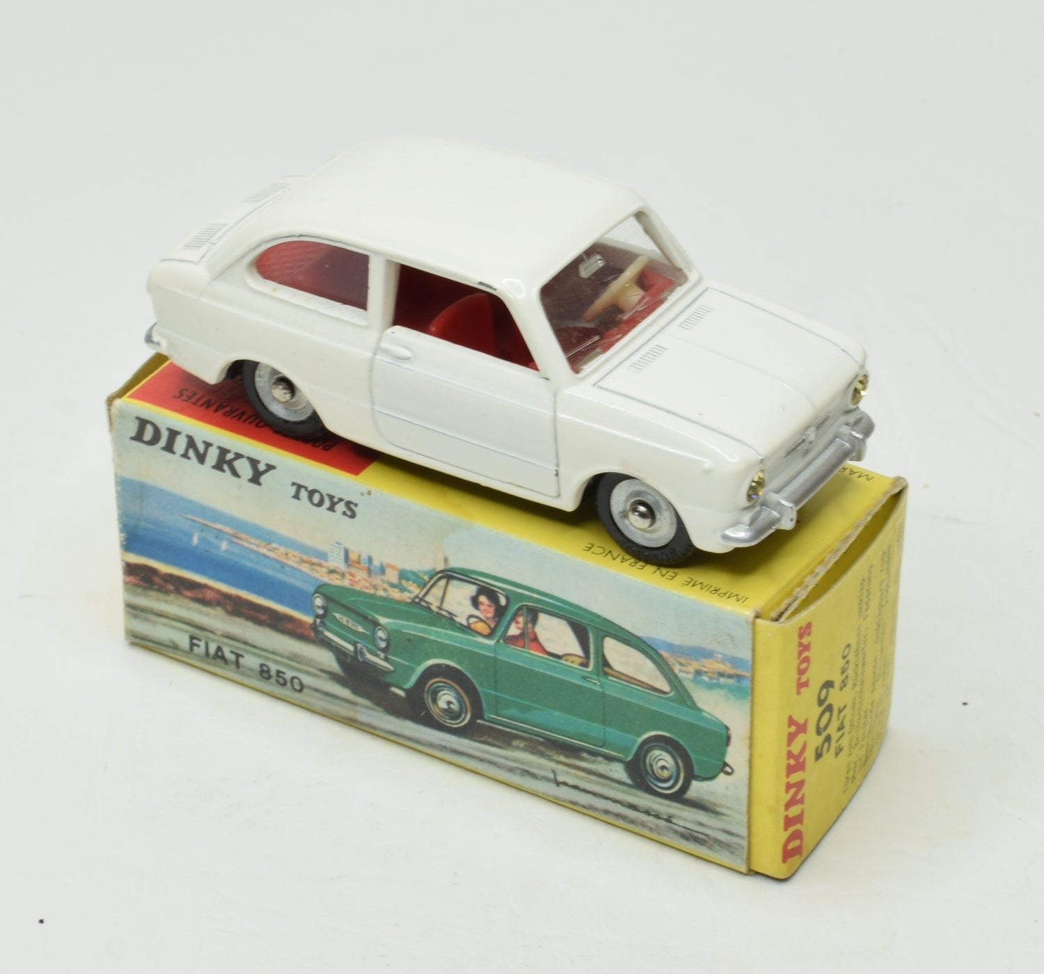 French Dinky  509 Fiat 850 Very Near Mint/Boxed 'Brecon' Collection Part 2