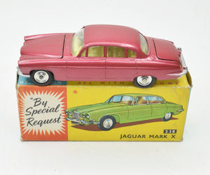 Corgi toys 238 Mark X Jaguar Very Near Mint/Boxed (New The 'Geneva Collectoin')
