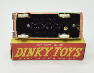 Dinky toys 178 Plymouth Plaza Very Near Mint/Boxed 'Brecon' Collection Part 2