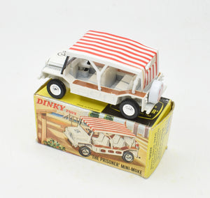 Dinky toys 106 'The Prisoner' Mini Moke Very Near Mint/Boxed  (New 'The Lane' Collection)