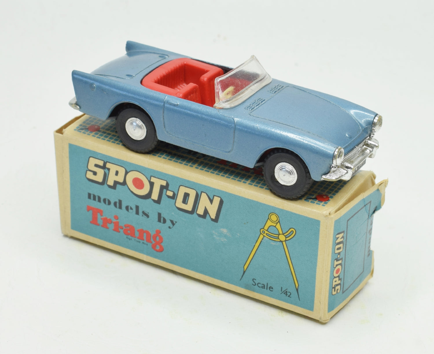 Spot-on 191 Sunbeam Alpine Very Near Mint/Boxed (Steel blue)