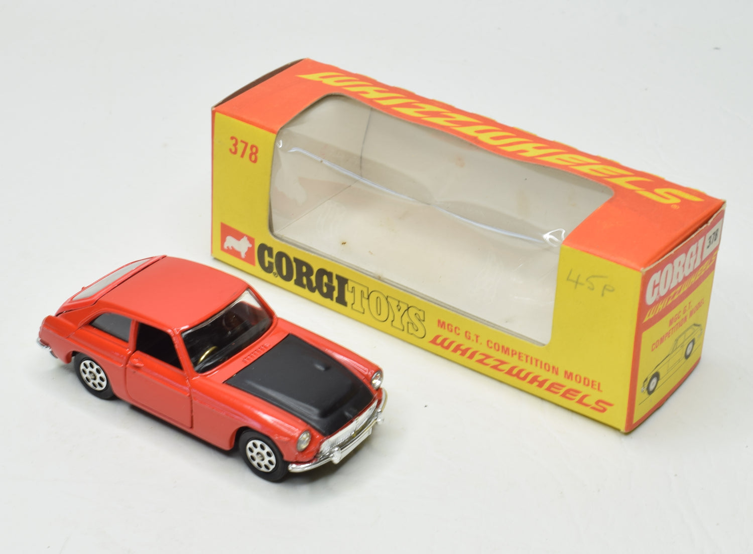 Corgi toys 378 MGC G.T Competition Very Near Mint/Boxed