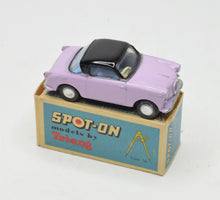 Spot-on 131 Goggomobile Very Near Mint/Boxed (Mauve & black)