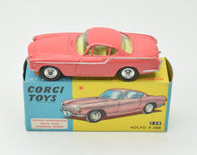 Corgi Toys 228 Volvo P.1800 Very Near Mint/Boxed (New The 'Geneva' Collection)