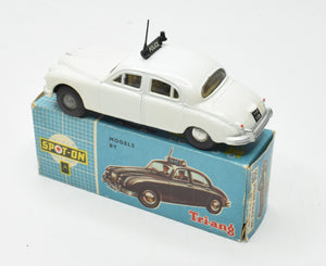 Spot-on 256 'POLICE'  Jaguar 3.4 Very Near Mint/Boxed (type 3 box)