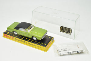 French Dinky toy 1419 Ford Thunderbird Very Near Mint/Cased 'Brecon' Collection Part 2