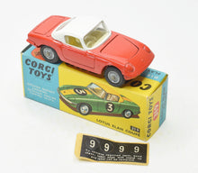 Corgi Toys 319 Lotus Elan Virtually Mint/Boxed (New The 'Geneva' Collection)