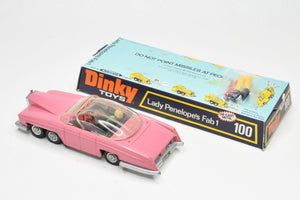 Dinky toys 100 Fab 1 Near Mint/Boxed (Black interior) (Kensington Collection)