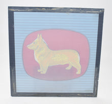 Corgi toys glass display sign Very Near Mint (Kensington Collection)